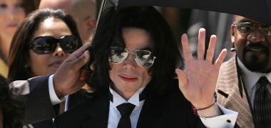 Michael Jackson în ziua verdictului din procesul său