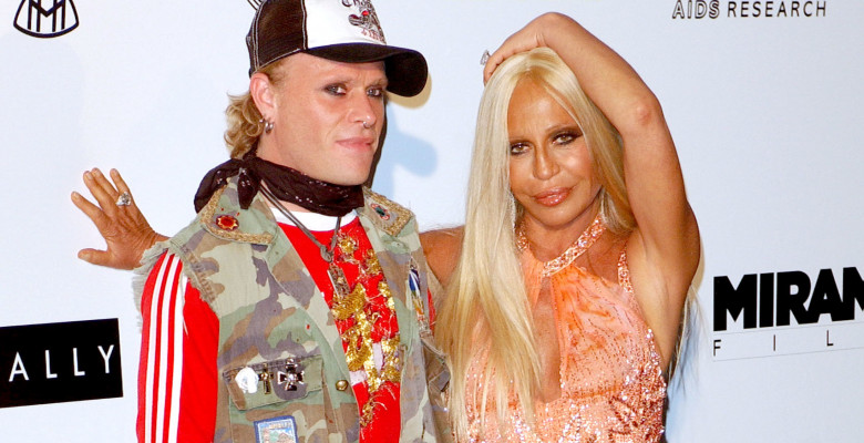 Keith Flint Donatella Versace