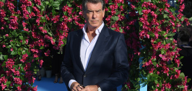 Pierce Brosnan la premiera filmului Mamma Mia! Here We Go Again