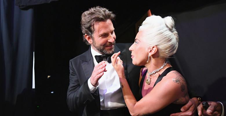 Lady Gaga și Bradley Cooper la premiile Oscar 2019