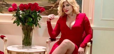 loredana rochie rosie sexy