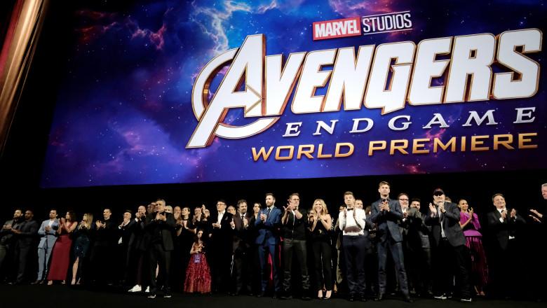 Los Angeles World Premiere Of Marvel Studios'