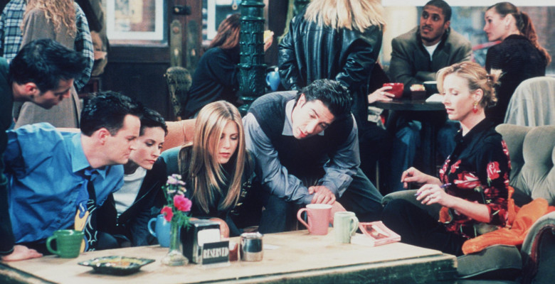 Matt Le Blanc Matthew Perry Courteney Cox Jennifer Aniston David Schwimmer And Lisa Kudrow