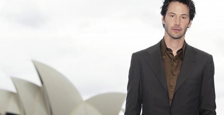 Actor Keanu Reeves Poses