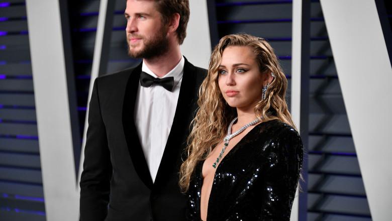 Liam Hemsworth - Miley Cyrus