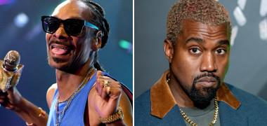 """Snoop Dogg, """"atac verbal"""" la adresa lui Kanye West. Fanii  au..."""