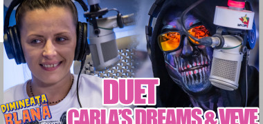 CARLA'S DREAMS & VEVE, in duet!!!!! (cover Sting - Shape of My Heart) - | #DimineataBlana