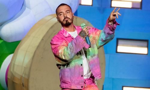 J Balvin Performs At Staples Center