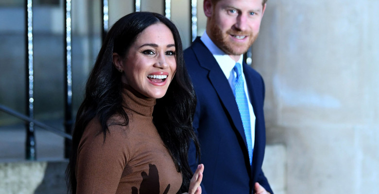 Meghan Markle si printul Harry. Foto: Getty Images