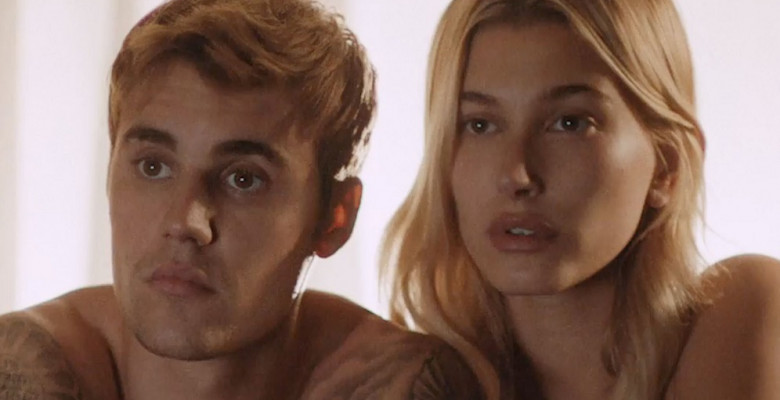 Newly weds Justin and Hailey Bieber star together in steamy Calvin Klein 50th anniversary ad