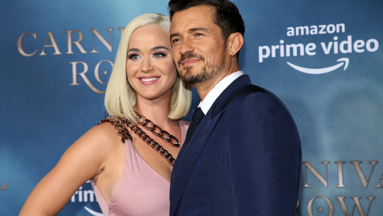Katy Perry și Orlando Bloom. Foto: Getty Images