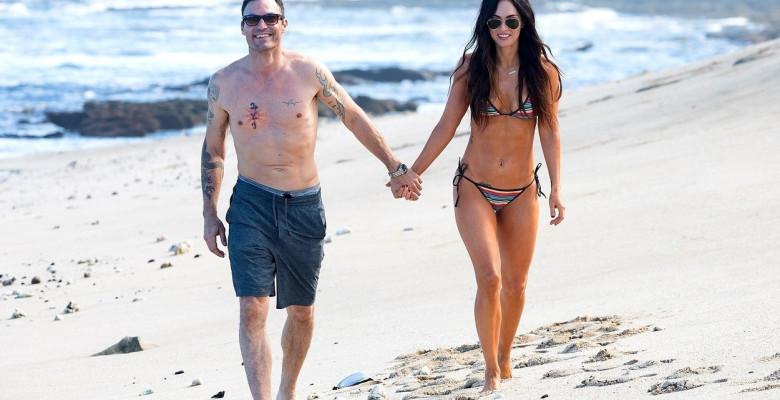 Brian Austin Green și Megan Fox. Foto: Backgrid USA / Profimedia