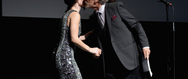 Eve Hewson și Steven Spielberg. Foto: Getty Images
