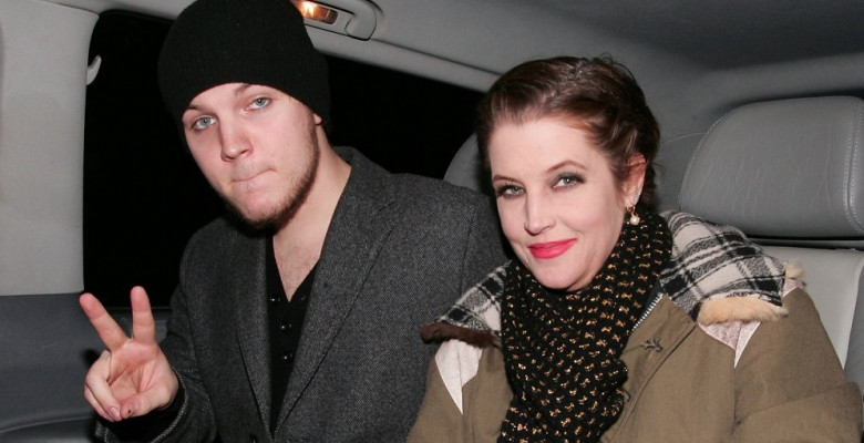 Lisa Marie Presley and Benjamin Presley Keough at Mr. Chow restaurant, London, Britain - 09 Jan 2012