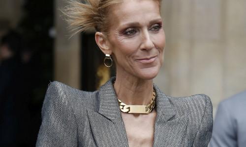 Celine Dion, în 2019, la Paris