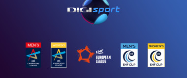 Vizual cupele europene la handbal