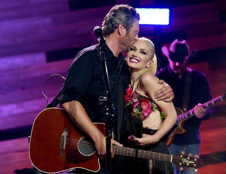 Blake Shelton și Gwen Stefani. Foto: Getty Images