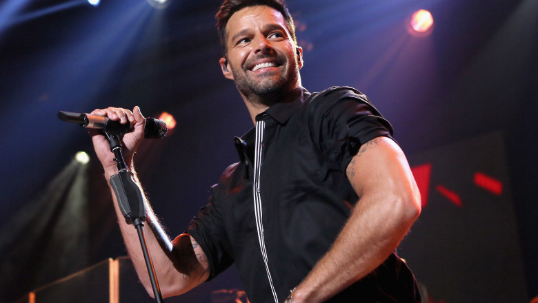 Ricky Martin. Getty Images