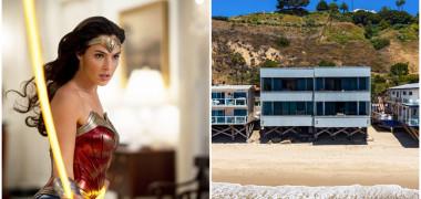 Wonder Woman trăiește într-o casă de vis la malul mării. Cum arată...