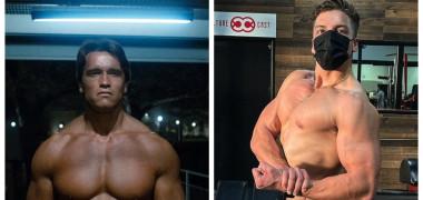 """Se transformă în Arnold Schwarzenegger. Joseph, fiul starului din """"Terminator"""", încheie anul în forță. Cum a pozat pe Instagram"""