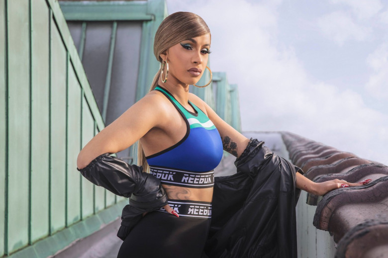 Cardi B rocks new Reebok collection