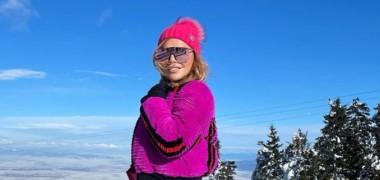 Loredana Groza la munte
