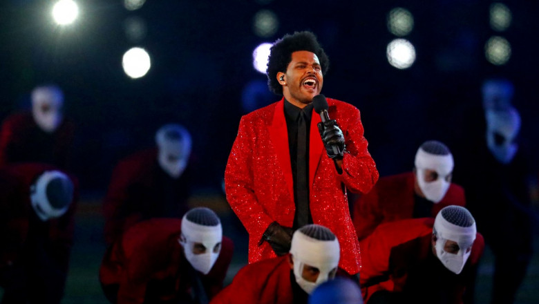 The Weeknd, Super Bowl 2021