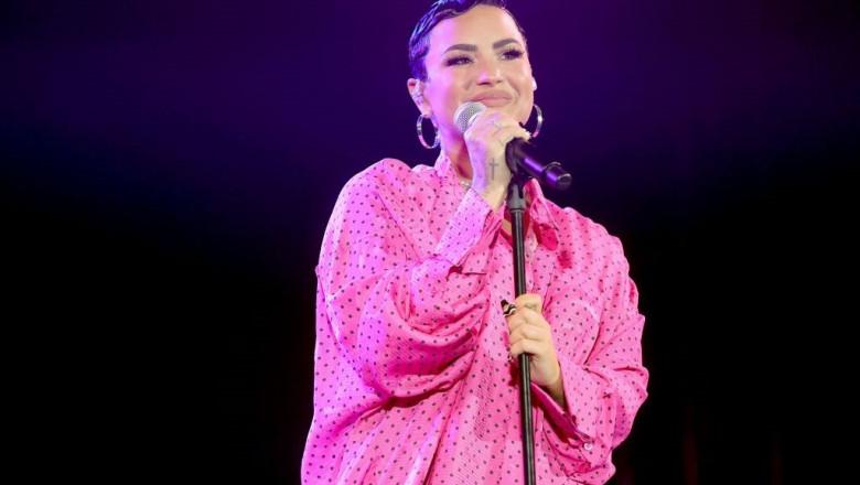 Demi Lovato pe scenă