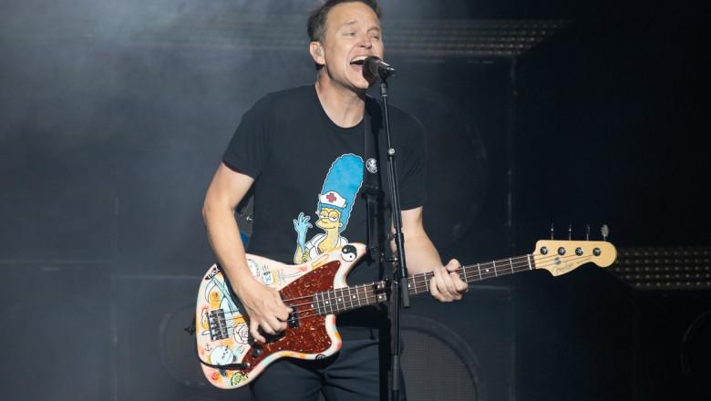 Mark Hoppus, Blink-182 in concert