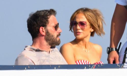 Jennifer Lopez and Ben Affleck enjoy Italy's famous Amalfi coast as J-Lo's 52 birthday celebrations continue.