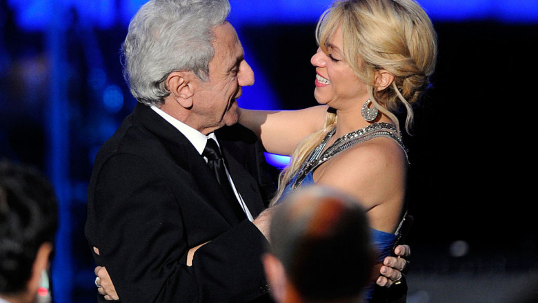 Shakira și tatăl ei, William Mebarak