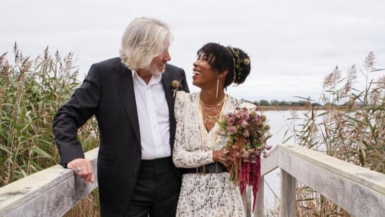 Roger Waters s-a căsătorit a cincea oară