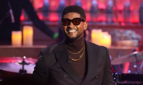 Usher a devenit tată pentru a doua oară
