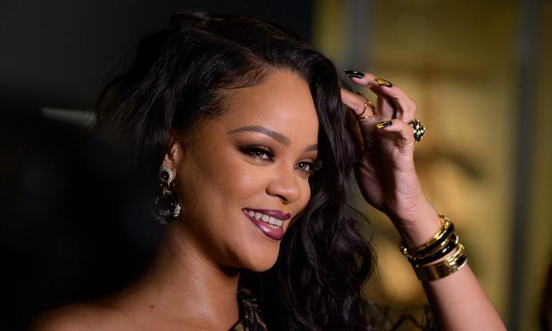 Rihanna Launch Event