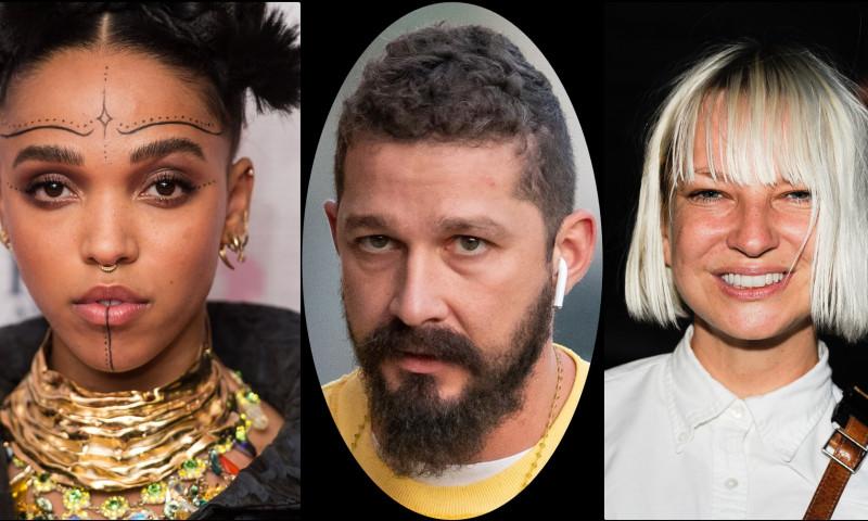 Sia o sustine pe FKA Twigs si face dezvaluiri socante despre actorul Shia LaBeouf