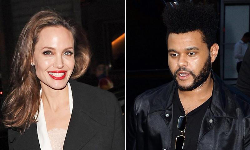 Angelina Jolie si The Weeknd au fost vazuti, din nou, impreuna!
