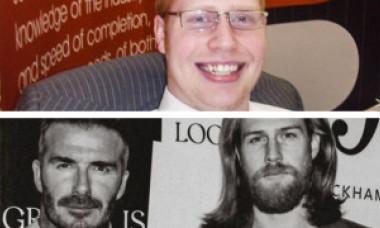 Transformarea acestui tânăr după o discuţie cu frizerul! De la 127 de kg. a ajuns un model de top