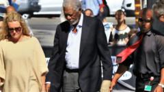 Morgan Freeman filmat în momentul când făcea comentarii deplasate unor femei | VIDEO