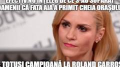 Cele mai tari meme-uri cu Gabi Firea după huiduitala de pe Arena Naţională