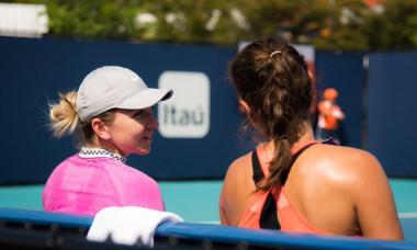 Reactia Juliei Goerges dupa victoria minunata alaturi de Simona Halep la Miami. Cum s-au hotarat cele doua sa evolueze impreuna