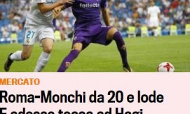 "Gazzetta dello Sport anunta transferul lui Ianis Hagi la Roma. ""Regele"" ar incasa o suma uriasa!"