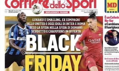 Scandal urias in Italia: Ce titlu a putut sa apara pe prima pagina a cotidianului Corriere dello Sport