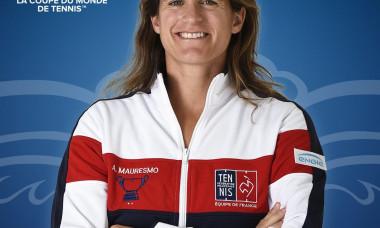 Amelie Mauresmo, fost numar 1 mondial WTA, aleasa capitan nejucator al Frantei in Cupa Davis - oficial