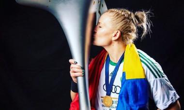 """Simona Halep, un model si o inspiratie pentru o castigatoare de Champions League: """"Daca ea poate, poti si tu"""""""