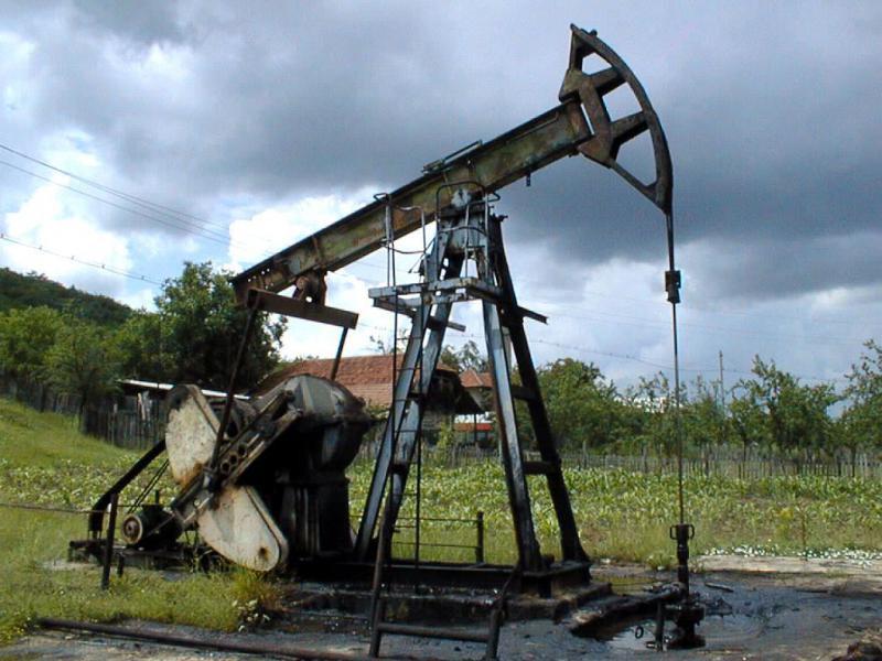 sonda petroliera - 89073-Mediafax Foto-Ionel Iancu