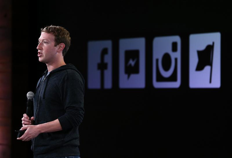 Mark Zuckerberg Facebook - Guliver GettyImages 2