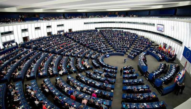 hemiciclu parlamentul european - European Union 2014 - European Parliament