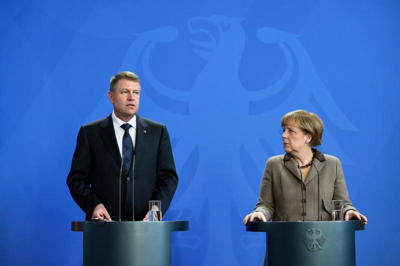 klaus iohannis si angela merkel, germania - administratia prezidentiala (4)