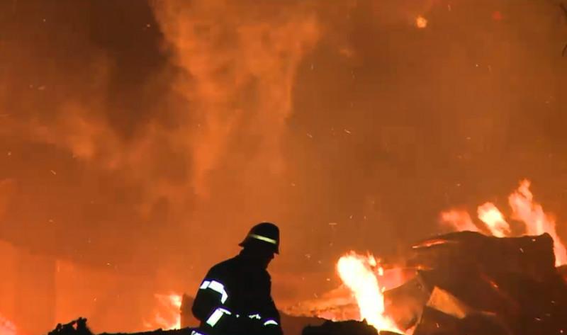 incendiu pompier