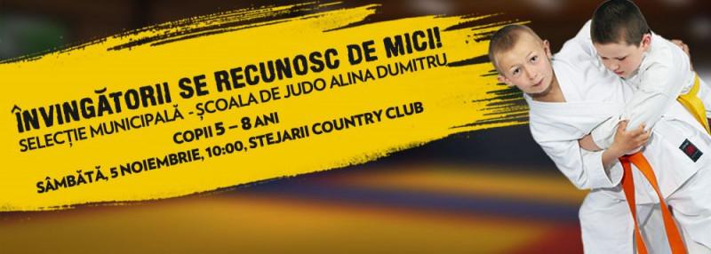 Selectia Municipala pentru Scoala de Judo Alina Dumitru